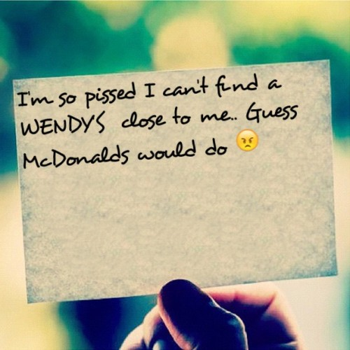 (Made with #Tweegram App)  #WENDYS VS #MCDONALD'S  (Taken with Instagram)