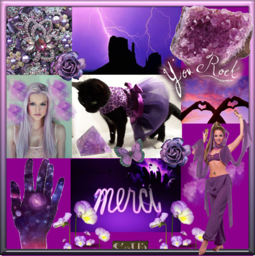 Purple Collage by enchanting-muse featuring purple cocktail dressesPurple cocktail dress / Desert Princess Adult Costume / Amethyst Carved Pyramid