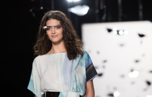 Google's Project Glass shows up at Fashion Week in NYC  We first caught sight of Google's Project Glass back in April. After months of rumors regarding a HUD, Google finally uncovered the secret project and revealed that it was working on perfecting the smart glasses for release in the future. June brought demonstrations from Google at Google I/O, and attendees were even able to pre-order a pair (if they had $1500 hanging around and were willing to trade that cash in for the privilege of being among the first). Other than its appearance at Google I/O, we haven't seen a lot of Project Glass in the last few months. Until this week, that is. The product was spotted at Fashion Week in New York City this week, with one designer using the glasses to record her show. According to The Verge, designer Diane von Furstenberg is using Google's Project Glass to record her New York Fashion Week show from behind the scenes. The recording will be made into a short movie entitled 'DVF through Glass' and will showcase a first-person perspective of preparation and participation in the runway show. Though the movie itself won't air until this Thursday (September 13), the Diane von Fustenberg Google+ page is awash with first-person perspective shots from the show. Head on over for shots of make up articles, clothes, and models sporting the new Google glasses.