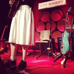 #artofthedot (and socks with ruffles)  (Taken with Instagram at City Winery)