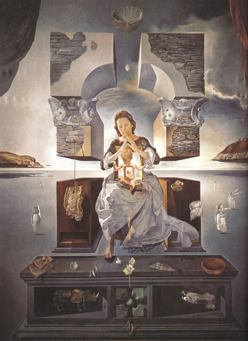 theabsolution:  The Madonna Of Port Lligat (1950) by Salvador Dalí