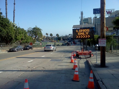 Limos Only.   Life in Hollywood. Book of Mormon opens tonight at the Pantages.
