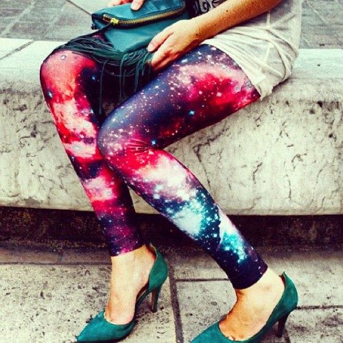 Love these leggings @blackmilkclothing  (Taken with Instagram)