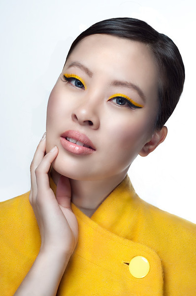Awesome yellow winged eye using Sugarpill Cosmetics by Michelle H.!