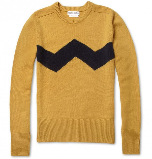 suyhnc:  Michael Bastian – 'Charlie Brown' Sweater - Style Engine