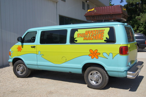 The Mystery Machine @ Diggers Dungeon in North Carolina