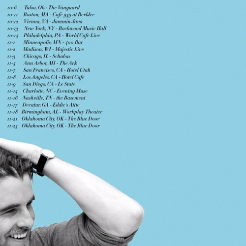 Minneapolis & Madison dates just added! #coltontour2012  (Taken with Instagram)