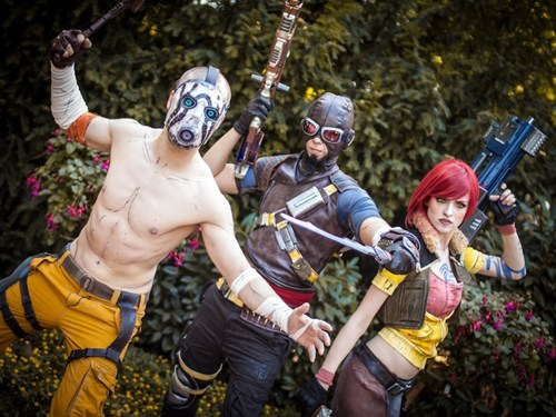 Cosplay of the day: Borderlands represent From madamespontaneous