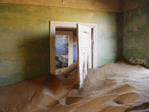 Kolmanskop ghost town by coda on Flickr.