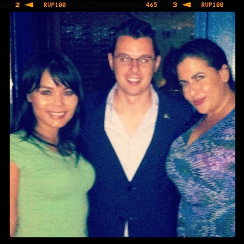 Roberto, Sandra & I  (Taken with Instagram at Cielo)