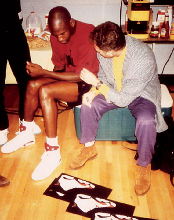 bvsedjesus:  Tink & Jordan. Nike wouldn't have been much in the 90s without em