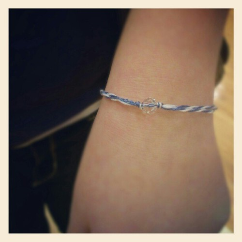 @ellydixon1sportin the Grace bracelet! #purple #firstinstagram! (Taken with Instagram)