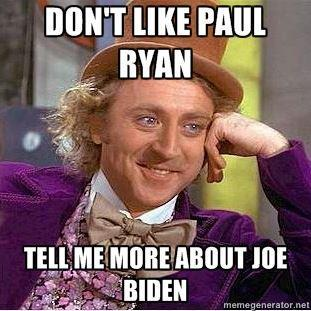 thegreyking:  rudenessgiuliani:  carpe-cerevisi:  team-joebama:  ok Joe Biden: was elected to the US Senate at 29 in 1972 got changes made to the SALT II treaty in 1979 when nobody else could successfully argued that the US Constitution implicitly supported a right to privacy during the Bork hearings as a way to end Bork's nomination to the Court managed the passage of the Comprehensive Crime Control Act in 1984, and wrote the Violence Against Women Act which passed in '94 and (among other things) provided federal support for abused women and women's shelters as well as made it illegal for police departments to charge rape victims for their rape evidence kits was one of the first and most major voices calling for American intervention in the Balkans in the 90s co-sponsored the McCain-Biden Kosovo Resolution plays well with Republicans, from Jesse Helms and Bob Dole in the Senate to Eric Cantor in the House now that he's vice president (see above with him co-sponsoring shit with John McCain) worked to create greater public/private partnerships to promote technology in schools, signing on companies like Microsoft to provide computers and education you asked sarcastically but I answered anyway I guess  sucks to suck op go drink more haterade we don't care     Nobody throws shade on my Joe.   As VP: Kept Obama's crazy bipartisan cabinet functioning with sheer charisma. Successfully oversaw early implementation of infrastructure portions of American Recovery &  Reinstatement Act of 2009, pouring loads of stimulus money into a bunch of helpful things probably in your town, probably in everyone's town, with less than one percent confirmed wasteful or fraudulent. Was the administration's point man in Iraq, ultimately playing a huge role in ending the war in Iraq. Played key roles in resolving the taxation deadlock (about extending unemployment insurance among other things) & debt ceiling crisis of 2011. Resolved both of above in a bipartisan fashion, mostly through sheer force of charisma, despite the rampant douchenozzlery of House Republicans in obstructing both (coughPAULRYANcough). Led successful administration effort to get Senate approval for new START treaty (strategic arms reduction). Pushed President Obama to adopt more progressive views on same-sex marriage, leading the Democratic Party to accept marriage equality as part of their national platform. Nobody throws shade on my Joe.