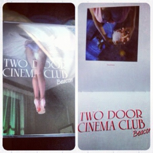 I bought Two Door Cinema Club's new album. Their sound matured a lot.  (Taken with Instagram)
