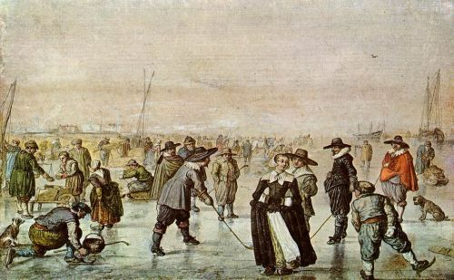 A Scene on the Ice Hendrick Avercamp