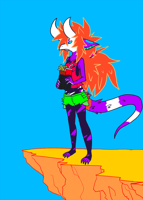 sometimes i ruin my friends' characters  foofoo(c) chelsea