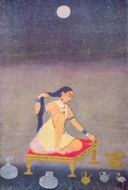 Radha at Night