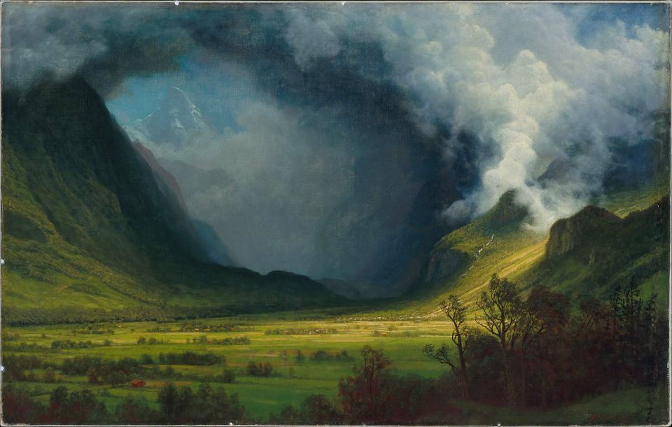 Albert Bierstadt, Storm in the Mountains, c. 1870