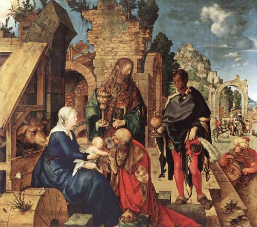 Albrecht Durer- Adoration of the Magi, 1504