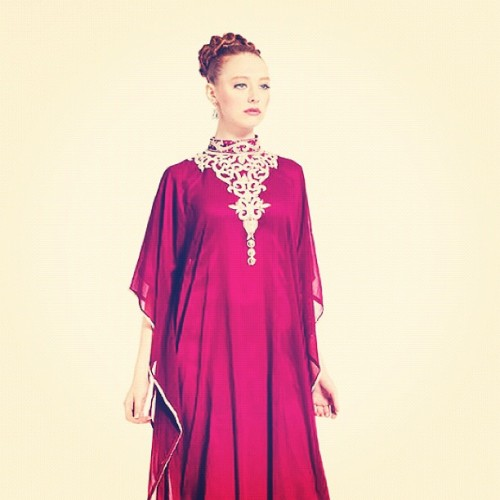 "#yarayosif Original ""Salam"" #kaftan #dresses , order online YaraYosif.com , #photography by @gregwaldo , #model @cynthialiberman , #hair @Gaudeandgold  (Taken with Instagram)"