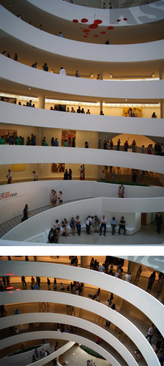 Guggenheim Museum // New York City // Frank Lloyd Wright // Summer 2012