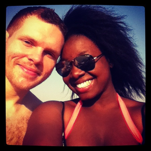 Beach Bums <3 enjoying life and being committed to one another..taking it one day at a time. <3