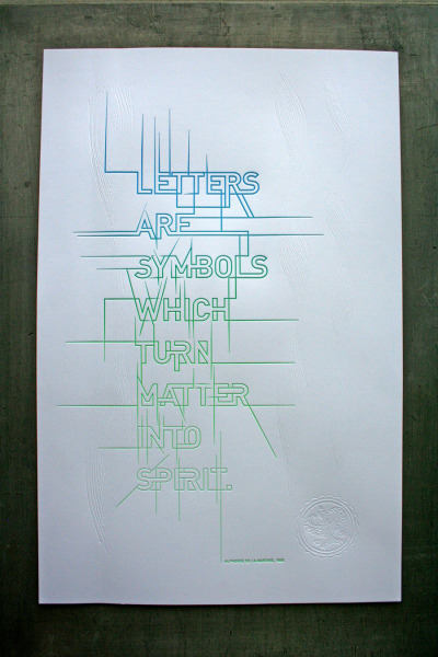 jpastor:  Matter Into Spirit Poster | Studio On Fire