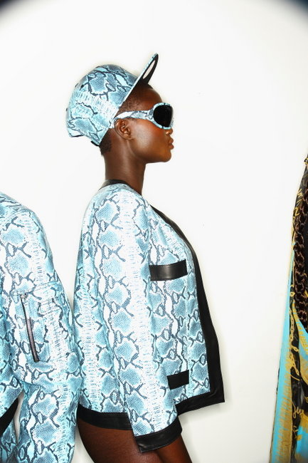 oystermag:  New York Fashion Week Backstage: Jeremy Scott