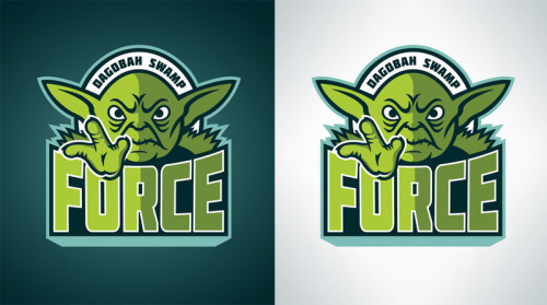 Dagobah Swamp Force Still pumping out the Star Wars inspired sports logo design. You can pick them up as prints, t-shirts, and various phone and laptop accessories at Society6… www.society6.com/wanderingbert Use this link by Sunday to get free shipping on any of my products! http://society6.com/wanderingbert?promo=c9d757