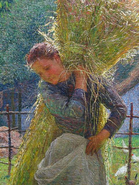 rainlullaby99:  La Faneuse by Émile Claus   ]]>