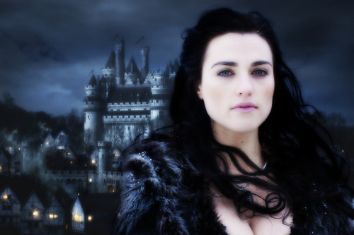 Morgana Pendragon Camelot wallpaper.