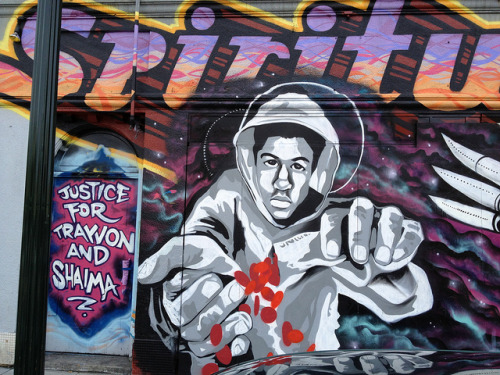 for Trayvon Martin on Flickr. Trayvon Martin graffiti in East Oakland