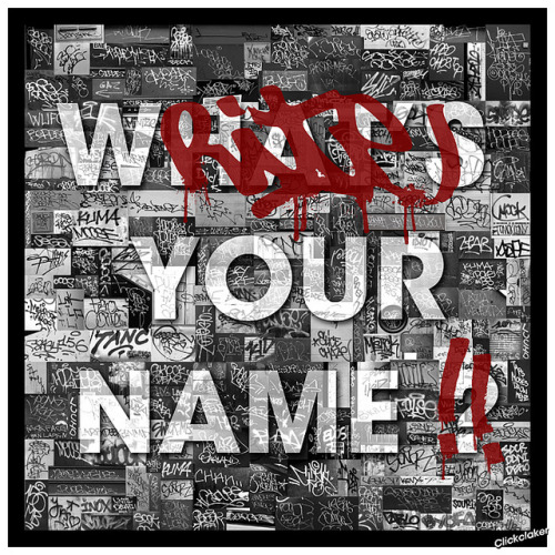 What's your name ? on Flickr.