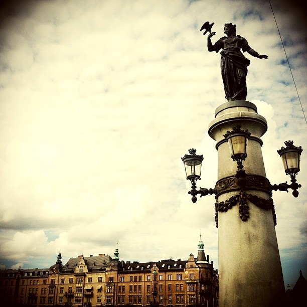 Last capture at stockholm #iphonesia #istrie #stockholm  (Taken with Instagram at Djurgårdsbron)