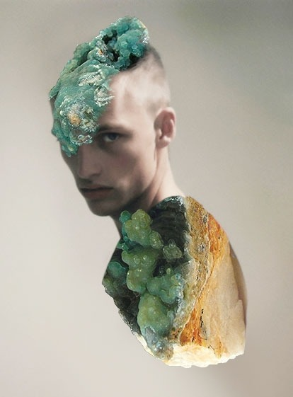 http://mattw.us/images/ Minerals/Human collages by New York based artist Matt Wisniewski