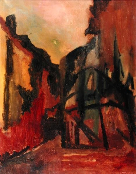 David Bomberg, 1953, East of the Moon