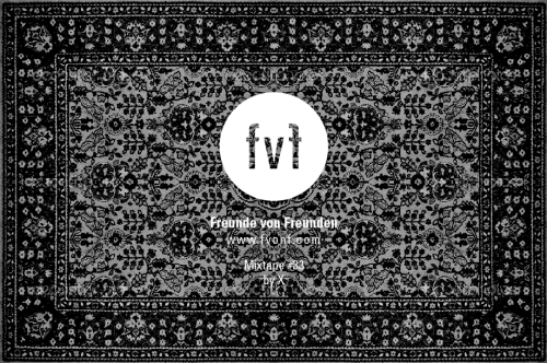 "freundevonfreunden:  FvF Mixtape #33 by X X who compiled this weeks mixtape for us is the man behind the project ""TIME KILLS"". It was founded in 2011 and serves as a platform for all sorts of personal feelings, experiences and anecdotes ranging from pornographic playing cards to thoughts about Joseph Beuys and dead pigeons. So if you are in town, you should definitely catch one of his sets at ""Golem"" Bar!  Tracklist: 01. Cliff Martinez / They Broke His Pelvis02. Edward Sharpe and The Magnetic Zeros / Dear Believer03. Bebeto Castilho / Pra nao Chorar04. Francis Bebey / New Track05. Holy Other / Inpouring06. Regina / Haluan Sinur (Kisses Remix)07. oOoOO / Break Yr Heartt08. Antwon & Ugly Mane / Underwater Tank09. A$AP Rocky / Purple Kisses10. Metronomy / The Look (King Krule Remix )11. Sad Souls / Windows and Churches12. Jefferson Airplane / Today13. Ana Mazzotti / Bairro Negro14. Laurel Halo / Something I never Had15. Saint Christopher / Bibio"