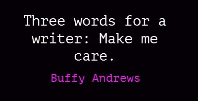 To see more of my writing quote pins, go here: https://pinterest.com/buffyandrews/my-words/