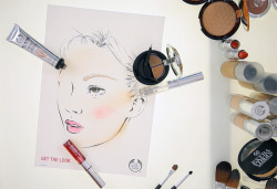 SNEAK PEEK! Lan Nguyen, Head make-up Artist at Vauxhall Fashion Scout and Professional National Make-up Awards Winner 2011, has been working with us to create some make-up tutorials. Here's a sneak peek from our shoot.