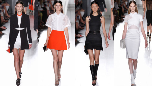 Styloko Blog: NYFW Day 3 Highlights - Victoria Beckham