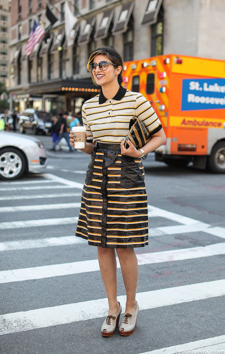 New York Fashion Week Streetstyle Image via leeoliveira.com