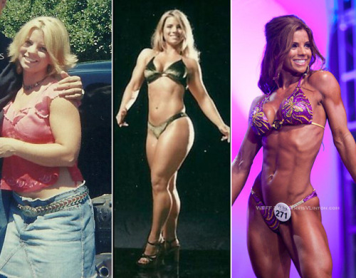 Jen Jewell Before & After What a transformation. On her small 5'2″ frame, Jen Jewell lost 50lbs and went from a size 11 to a size ZERO. She is currently a top WBFF Pro Fitness Athlete… and still cute as a button.