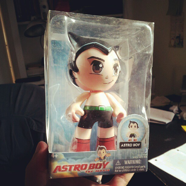 #astroboy #toy for my daughter  (Taken with Instagram)