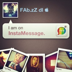 I'm on InstaMessage! Chat with me now! #instamessage (Tomada con Instagram)
