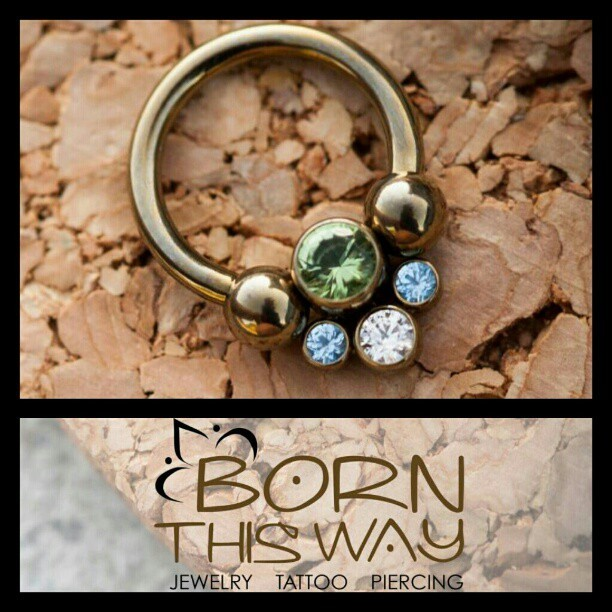 We're in love with these new gem clusters from Anatometal! Come by and check em out at [Born This Way Body Arts - Knoxville, TN]