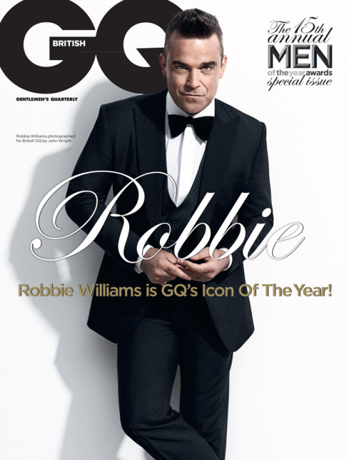 What do you think of our first GQ cover featuring the legendary Mr Robbie Williams? See more from the shoot on Caffeine Nicotine.