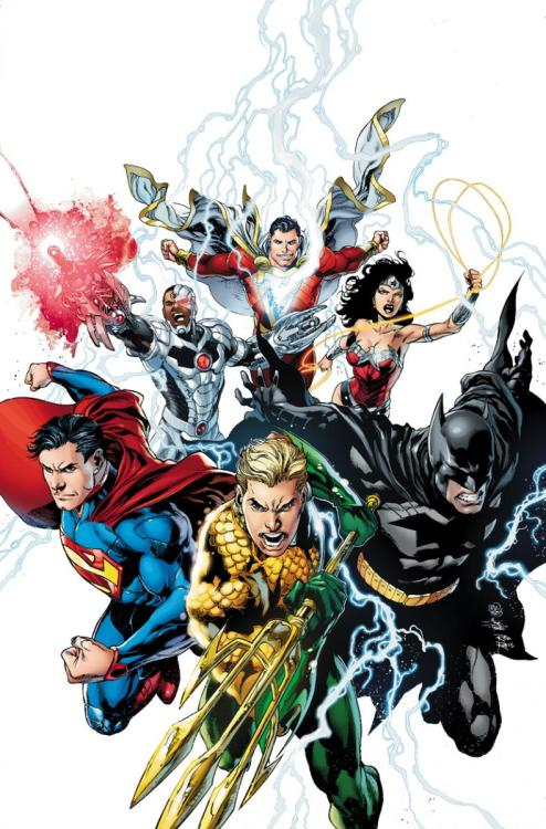 Justice League #15 tease No Green Lantern and no Flash?