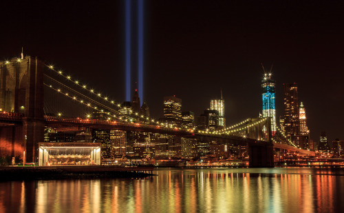 thehonkychateau:  9/11 Tribute in Lights
