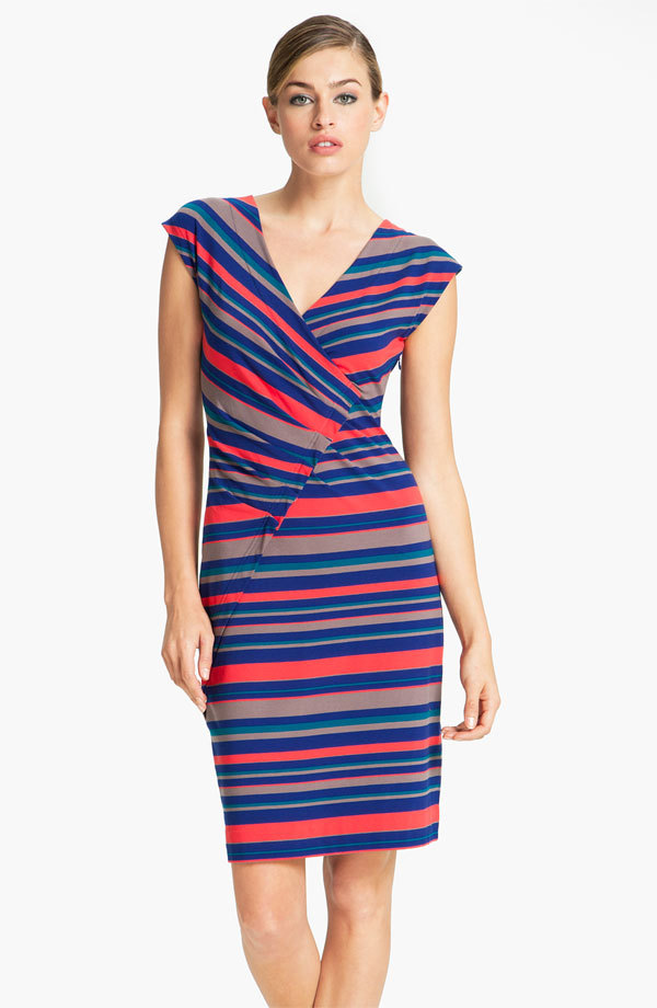 Nobody does stripes quite like Marc Jacobs. Love the colors on this one. (I realize this is a totally lame blog post after days on end of nothing, but I hope to return to my regularly scheduled blogging soon enough. Life has been cray lately - work is busy, I got a new car (!!!), one of my besties is getting married in December and we've got some super fun parties for her, and then all the other regular life stuff that just needs to be tended to. I'll be back soon enough. Until then, I'll share little gems that catch my eye, like this dress.)