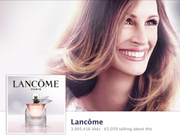 The 20 Fastest Growing Brand Pages On Facebook In August  Lancome averages the highest daily likes on Facebook for the month of August.   (via Business Insider)